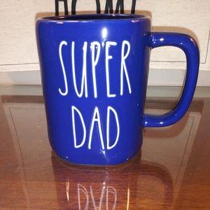 Rae Dunn Super Dad mug